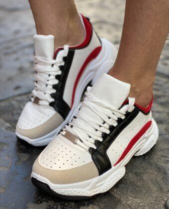 Sneakers uomo bianca mod dsquared