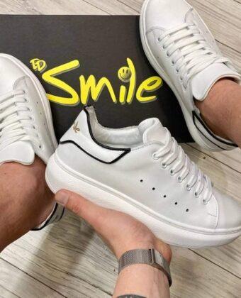 Shoes Sneacker uomo bianca Ddsmile scarpe limited