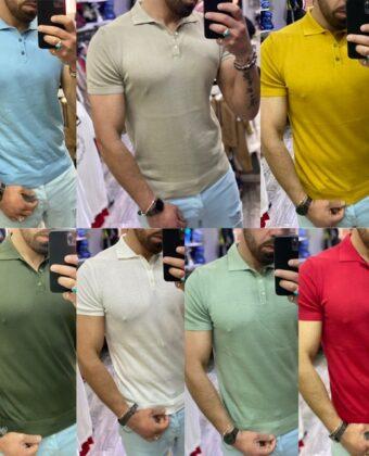 Polo Uomo slim manica corte vari colori Shirt Ddsmile lmited