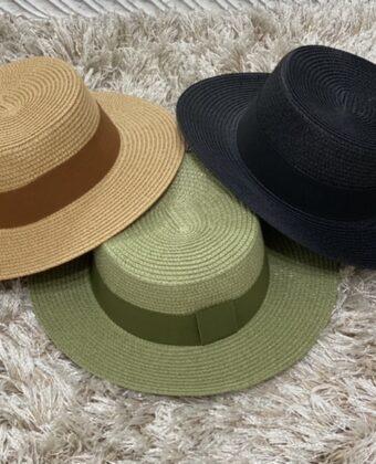 Cappello paglierino uomo donna in vari colori accessori moda Ddsmile