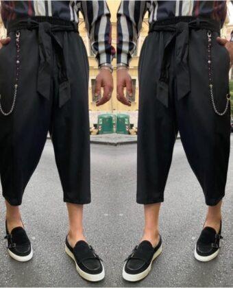 Pantalone uomo limited modello japan con cintura